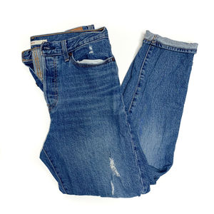 Levi's Wedgie Distressed Icon Fit Jeans